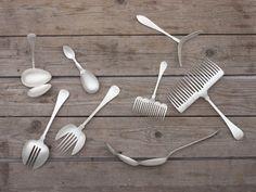 フォークをつなげたら農機具になった。 Maki Okamoto – The Spoon