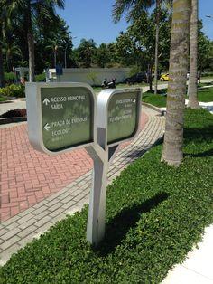 Wayfinding - Directional sign - O2 Corporate - Rio de Janeiro - Brazil - # Brazilian design