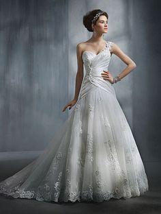 Si quieres ser una princesa, este es tu vestido. Alfred Angélico
