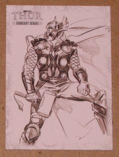 Thor Movie (UDC 2011) Concept Series Card C2 EX