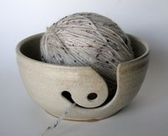 pretty yarn bowl