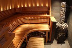 Stunning and comfortable sauna