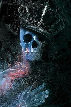 King Skull #Illustration