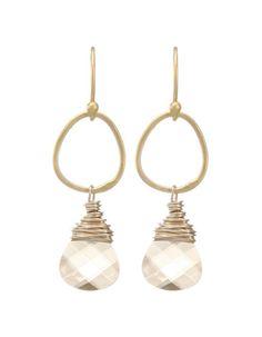Moonrise Jewelry - Giza Earrings- Golden Shadow
