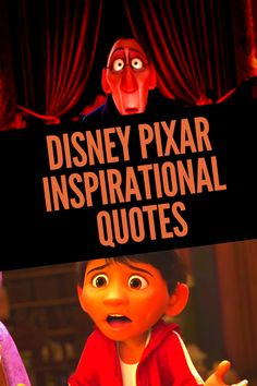 Get inspiration from these Best Pixar Quotes. Disney Pixar has an amazing collection of movies with some amazing inspiring quotes. Up Movie Quotes, Disney Quotes To Live By, Pixar Quotes, Disney Movie Quotes, Disney Princess Movies, Disney Pixar Movies, Heart Warming Quotes, Disney Cruise Tips, Quotes Inspirational