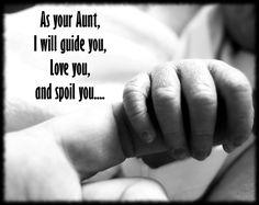 My promise to my niece when she was born