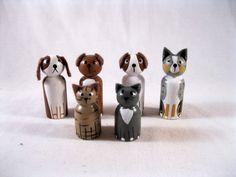 Pet peg dolls