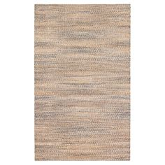 Beige Solid Loomed Rectangle Area Rug - (5'X8') - Anji Mountain