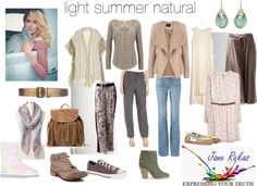 light summer natural