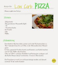 Low Carb PIZZA...und was sonst noch auf meinem Speiseplan stand