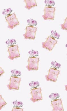 Chic Wallpaper, Fashion Wallpaper, Painting Wallpaper, Flower Wallpaper, Mobile Wallpaper, Pattern Wallpaper, Iphone Wallpaper, Chanel Wallpapers, Cute Wallpapers