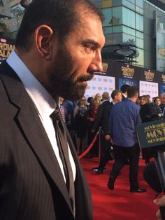 Guardians of the the Galaxy's Dave Bautista talks to us about the new film!