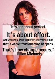 It's about the effort