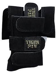3b64569afef7 Tiger Paws Gymnastics Black Wrist Wraps | Adjustable Wrist Support | Wrist  Injury Prevention (small