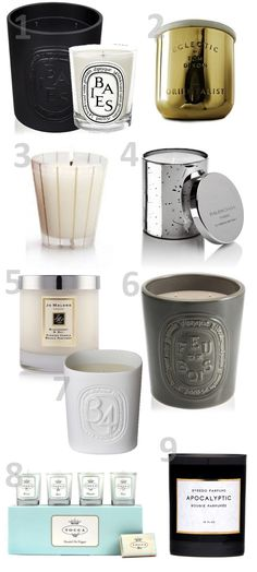 Confetti and Stripes: burn notice: my favorite scents for your home