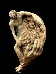 bronze maquette by Benjamin Victor