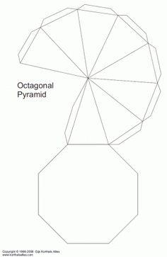 Net octagonal pyramid (v2)