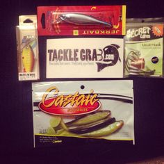 Mystery tackle box fishing mysterytacklebox for Fishing box subscription