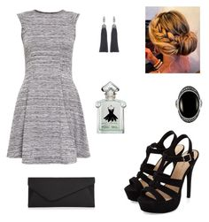 """""""black and white night"""" by fannyaleksei on Polyvore featuring Cameo Rose, Accessorize and Lanvin"""