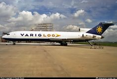 VARIG LOG B-727-200F freighter, credit to the author.