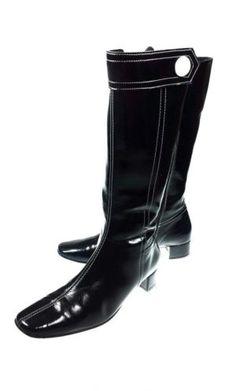 Vintage 60s stijl lak laarzen, maat 37! Tante Twiggy Shop <3 www.marktplaats.nl/verkopers/20281615.html retro sixties laklaarzen