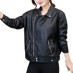 Jaycargogo Mens PU Leather Dress Blazers Men Wedding Party Suit Jacket Motorcycle Faux Leather Black XL