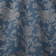 Thoughtfully designed, beautiful and unique fabrics to inspire stunning interiors. Curtain Fabric, Curtains, Planning A Move, Old Building, Blue Fabric, Shades Of Blue, Dusk, Storage Spaces, Home Furniture