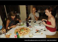Pizza Margherita Gourmet 23 Luglio 2013 Ristorante Alba, Napoli