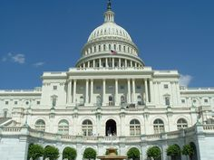 The capital building in Washington D.C., USA.