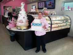 A family-owned, award-winning bakery located on South Broadway in Denver, Colorado. Specializing in custom cakes and other delicious desserts Custom Cakes, Delicious Desserts, Wedding Cakes, Bakery, Food, Wedding Ideas, Spaces, Personalized Cakes, Wedding Gown Cakes