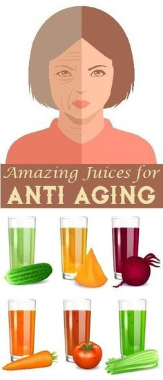 Amazing Juices for Anti Aging..