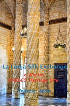 La Lonja Silk Exchange Valencia Spain Is Worthy - Nextbiteoflife Europe Destinations, Europe Travel Tips, Spain Travel, European Travel, Travel Advice, Asia Travel, Travel Guides, Portugal Travel, Travel Stuff