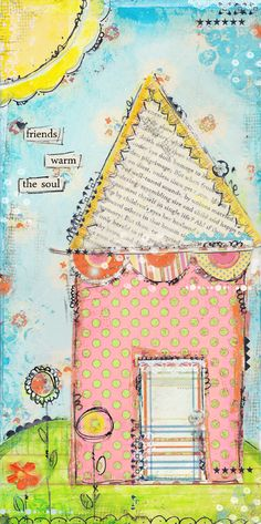 Christy Tomlinson is another master of marks and scribbles!!! Her work is delightfully uplifting and inspiring :)
