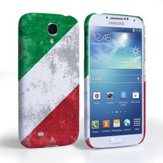 Caseflex Samsung Galaxy S4 Retro Italy Flag Case | Mobile Madhouse #Gift #Present #Samsung #Galaxy #S4 #SamsungS4 #GalaxyS4 #Case #Cover #HardCase #PhoneCover #Retro #Flag #Distressed #Italy #Italian