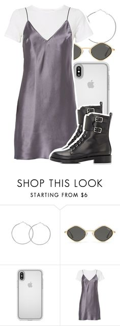 """""""Untitled #5550"""" by dianna-argons-lover ❤ liked on Polyvore featuring Speck, Fleur du Mal and Gianvito Rossi"""