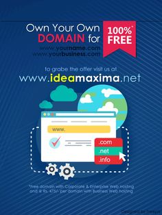 Get Your Website Domain Name for FREE
