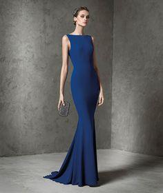 Hermosos vestidos de cóctel largos | Colección Pronovias 2016