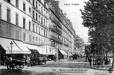 Angle boulevard Richard-Lenoir et rue Oberkampf