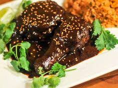 Mole Poblano Recipe, Mole Recipe, Poblano Recipes, Poblano Sauce, Mexican Chili, Mole Sauce, Mexican Chocolate, Chocolate Turkey, Serious Eats