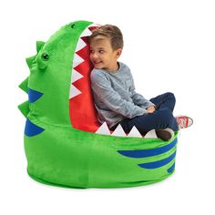 HearthSong's handsome kids' room furniture, including kids' chairs and desks, combine careful crafting, comfort, and creativity. Dinosaur Room Decor, Dinosaur Bedroom, Toddler Chair, Baby Chair, Baby Dinosaurs, Dinosaur Toys, Dino Toys, Kids Playroom Furniture, Kids Bookcase