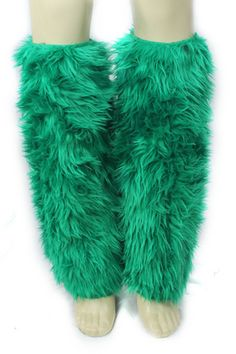 tried these furry boot covers.I'm only so they might be thy high and I'd look like a muppet. Irish Costumes, Costume Accessories, Leg Warmers, Party Supplies, Ireland, Fur Coat, Halloween, Sexy, Green