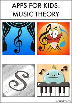Piano Lessons For Kids Music theory apps for kids from And Next Comes L - Music theory apps for kids Online Music Lessons, Music Lessons For Kids, Music Lesson Plans, Music For Kids, Piano Lessons, Art Lessons, Music Theory Worksheets, Music Theory Games, Piano Teaching