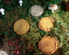 Fairy garden accessories Fairy small pathway by FairybehindtheDoor