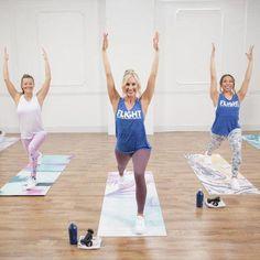 The Ultimate Cardio Pilates Burner! Take Flight: A Cardio Dance/Yoga Hybrid Workout Cardio Yoga, Cardio Boxing, Cardio Dance, Zumba, Pilates Workout Videos, Exercise Videos, Yoga Videos, Pilates Training, Yoga Fitness