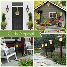 Curb appeal can completely transform the look of your home! Check out these 6 tips to help you with your curb appeal @ http://blog.homes.com/2013/04/6-ways-to-increase-your-homes-curb-appeal/ #curbappeal #garden #gardening