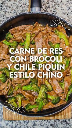 Easy Healthy Recipes, Asian Recipes, Mexican Food Recipes, Beef Recipes, Easy Meals, Cooking Recipes, Drink Recipes, Healthy Food, Food C