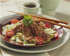 Thai Beef and Cucumber Salad --