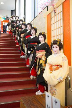 浅草花柳界 Asakusa Geisha District 今年初めての投稿は「新春浅草歌舞伎」総見の一コマです♪ 本年もよろしくお願いいたします
