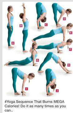 Yoga to burn calories