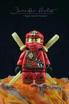 Lego Ninjago fondant Figure
